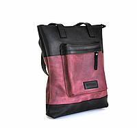 """Жіноча шкіряна сумка """"Shopper"""" кожаная сумка ручної роботи, натуральна шкіра"""