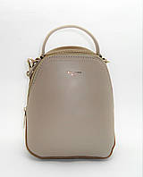 Женский рюкзак-сумка DAVID DJONES серого цвета OOP-099369 mini, фото 1