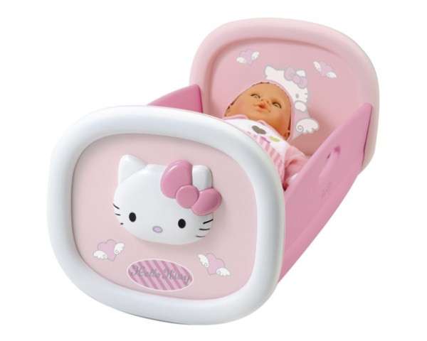 Колыбель для пупса Smoby Hello Kitty