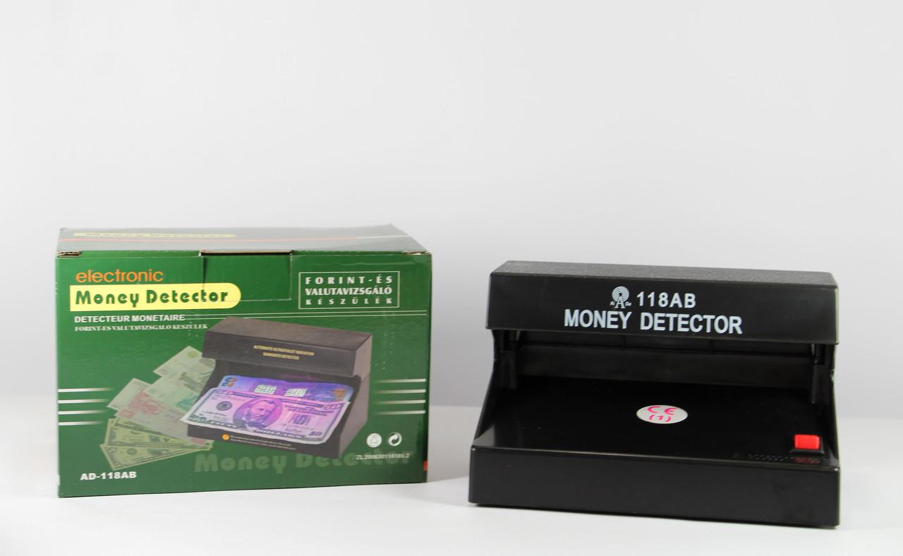 Ультрофиолетовая лампа, детектор валют работающий от батареек