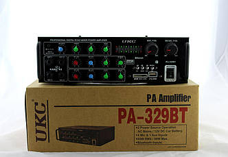 Усилитель AMP AV 329 BT  4