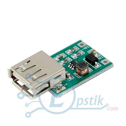 DC-DC повышающий преобразователь, до 5В 600мА, с USB выходом