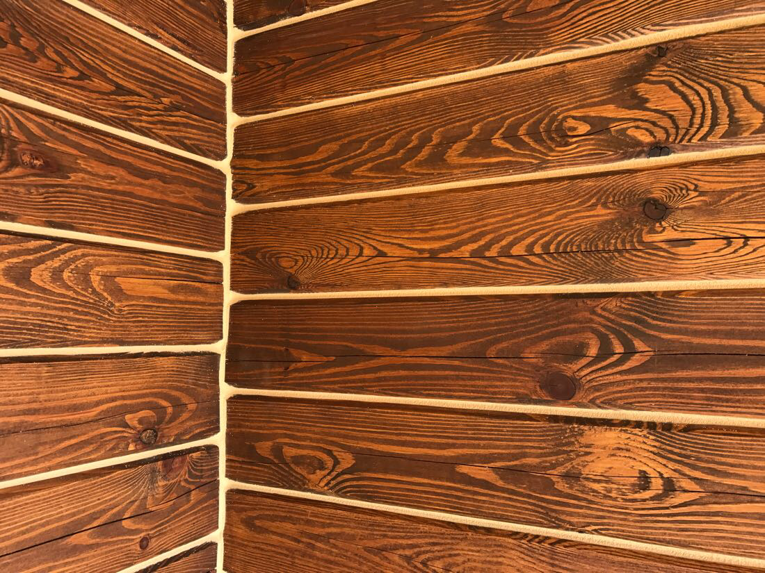 Герметизация деревянного дома, сруба