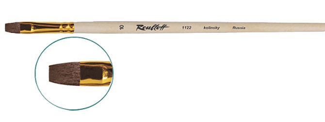 Кисть Roubloff колонок плоская 1122 №3 д р
