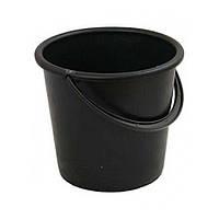 Ведро для мусора 10л. Черное