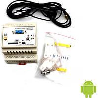 Сигнализации и SMS управление МастерКит Интеллектуальное управляющее и охранное устройство - GSM модуль на DIN-рейку