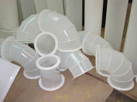 Вентиляция из пластика. Монтаж  в Киеве