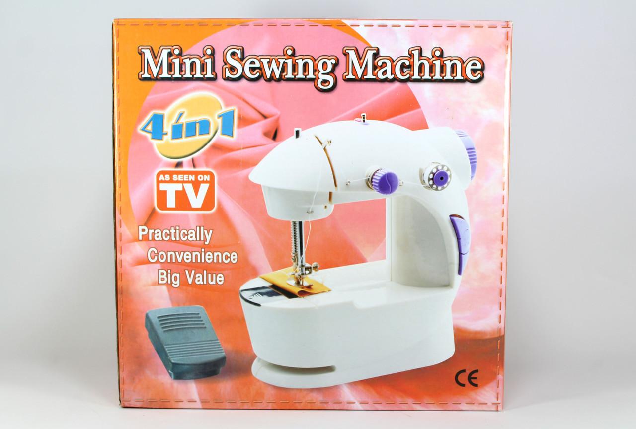 Швейна машинка FHSM 201 з адаптером 20