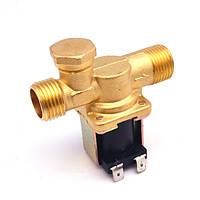 """Исполнительные устройства МастерКит Электромагнитный водопроводный клапан (бронза, ½"""", 130 C, 220В, нормально закрытый)"""