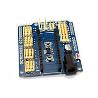 Готовые модули МастерКит Плата-расширение для Arduino Nano и Arduino Pro