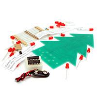 Наборы для сборки МастерКит Новогодняя ёлка (набор для пайки)