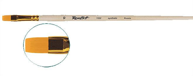 Кисть Roubloff синтетика плоская 1322 №10 д.р.