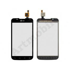 Тачскрин для LG P715 Optimus L7 II Dual Sim, черный, оригинал (Китай)