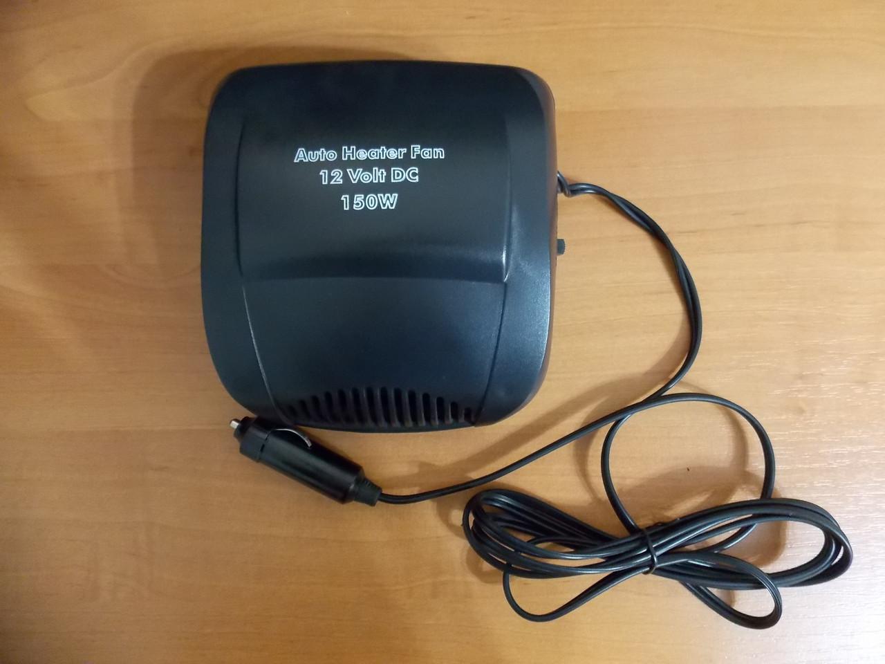 Тепловентилятор обогреватель вентилятор с керамическим нагревательным элементом Польша от прикуривателя 12 В
