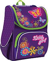 Рюкзак (ранец) школьный каркасный 1 Вересня Smart 553013 Little Girl PG-11 34*26*14см