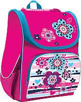 Рюкзак (ранец) школьный каркасный 1 Вересня Smart 553004 Girly PG-11 34*26*14см