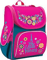 Рюкзак (ранец) школьный каркасный 1 Вересня Smart 553027 A Little Princess PG-11 34*26*14см