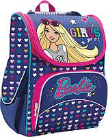 Рюкзак (ранец) школьный каркасный 1 Вересня 552763 Barbie H-11 34*26*14см