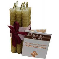 Восковые свечи для торта Чарівна свічка, 9 шт