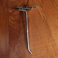 Крючки для одежды хром на эконом панель, 5 см. (6мм.), фото 1