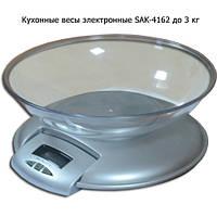 Кухонные весы электронные SAK-4162 до 3 кг