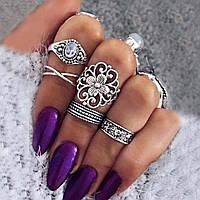 Набор колец , кольцо 5 шт.