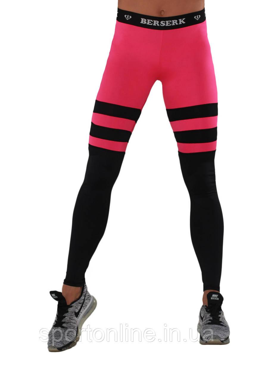 Лосины BERSERK INTENSITY black/pink