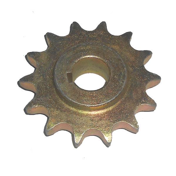 Звездочка консоли колеса приводного ведущая z=14 (под шпонку) (ТОДАК)
