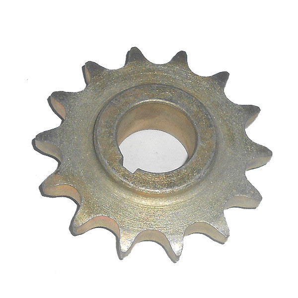 Звездочка консоли колеса приводного ведомая (z=14, t=15.875) (под шпонку) (ТОДАК)