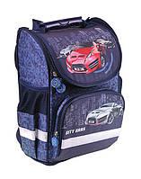 Рюкзак (ранец) школьный каркасный ZiBi ZB16.0109CC Top Zip City Cars