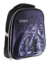 Рюкзак (ранец) школьный каркасный ZiBi ZB16.0218BK Swell XXL Biker