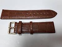 Ремешок для часов Toscana структурный 22мм коричневый