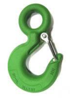 Крюк грузоподьемный оцинкованный 800 кг зеленный
