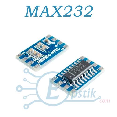 Модуль MAX3232, конвертер сигналов RS232 в TTL