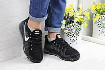 Женские кроссовки Nike air max 2017 черные с белым, фото 2