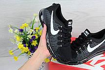 Женские кроссовки Nike air max 2017 черные с белым, фото 3