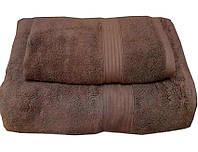Набор махровых полотенец Galata коричневый
