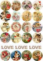Печать съедобного фото - А4 - Вафельная бумага - День Св. Валентина №1