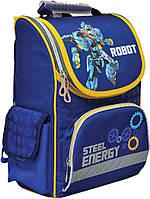 Рюкзак (ранец) школьный каркасный Yes 552749 Steel Energy H-11 34*26*14см