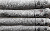Полотенце махровое Krugi (серый)