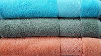 Полотенце махровое Lux home ромб