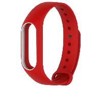 Ремешок для браслета Xiaomi Mi Band 2 White / Red