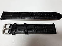 Ремешок для часов Toscana структурный 20мм черный