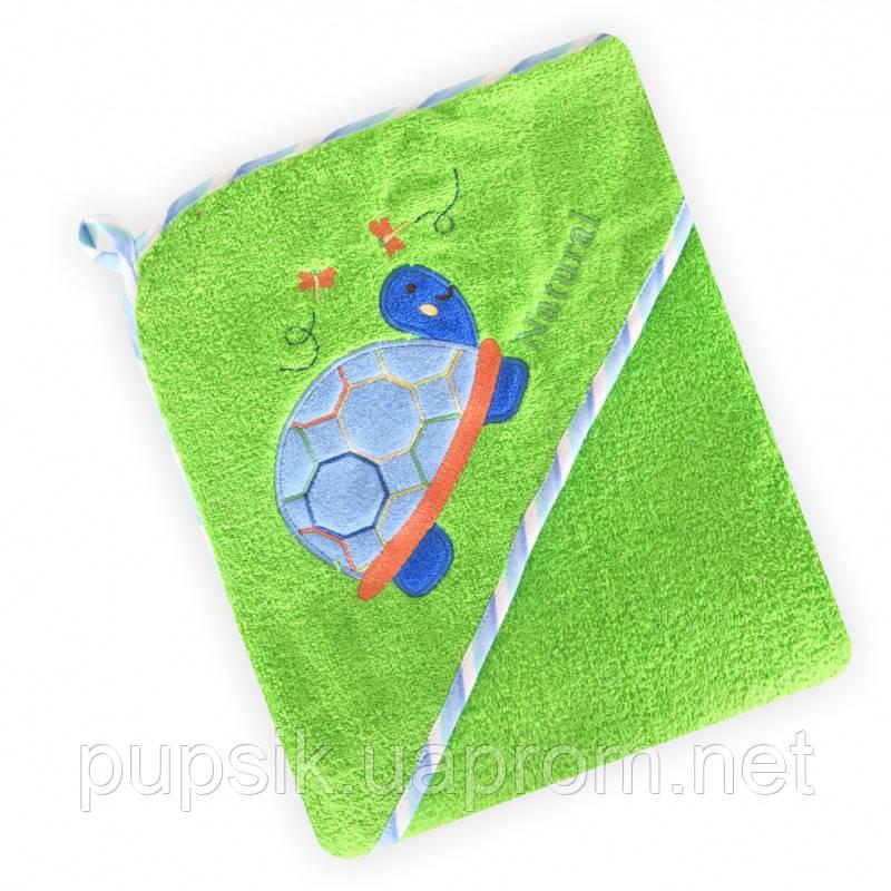 Полотенце Baby Mix CY-25 Green Черепаха