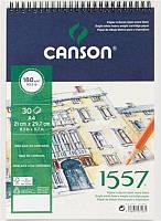 Альбом спираль А4 для графики Canson 1557 180г/м 30л. CON-204127423R