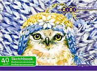 Альбом для рисования А4 40л. ZiBi ZB.1426