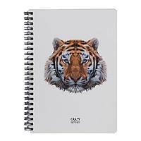 Скетчбук Crazy Sketches Geometrical - Тигр на пружине