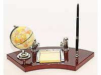 Настольный офисный набор глобус