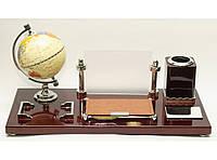 Настольный офисный набор с глобусом
