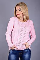 """Женский свитер """"Мирта"""", розовый"""